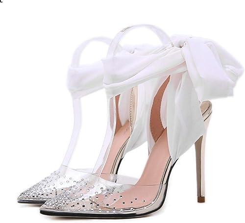 Zapatos De Tacón Ropa De mujer Europea Y Americana 11 Cm Moda Sexy Club Nocturno Salvaje Tacón Alto Arco Sandalias