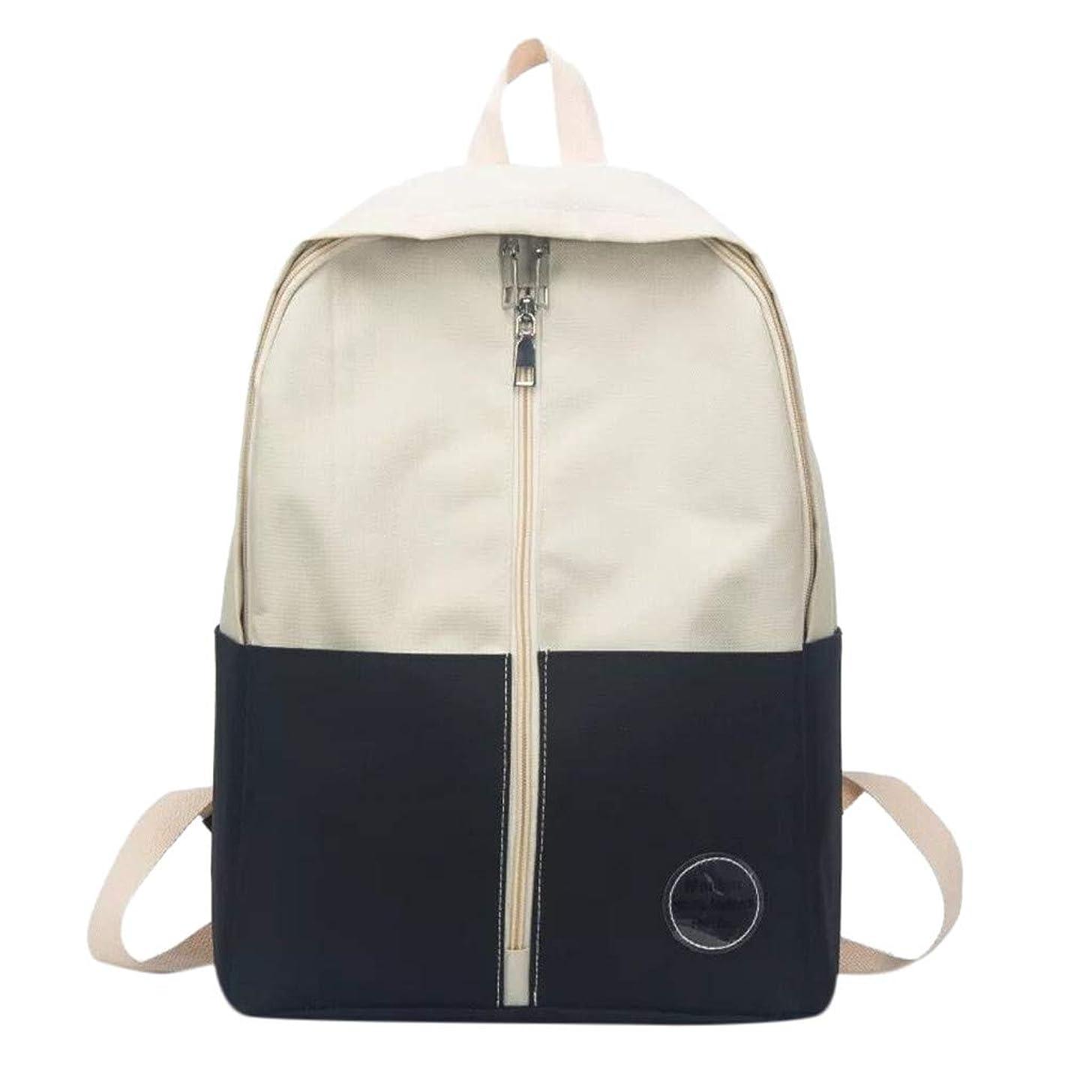 Muti-Pocket Backpack for Women/Girls, Pesonality Canvas Rucksack Large Capacity Schoolbag Mutifunction Travel Bookbag by Vielgluck