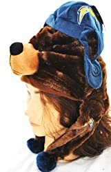 NFL San Diego Chargers Thematic Mascot Dangle Hat