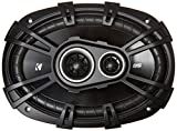 Kicker D-Series 43DSC69304 360 Watt 3-Way Car Audio Coaxial Speakers, 6x9-inches