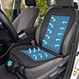 Dyujn Protezione Sedile Auto, Coprisedile per Auto con Funzione di Raffreddamento, Coprisedile Bambini Universale per Sedili Auto,12V