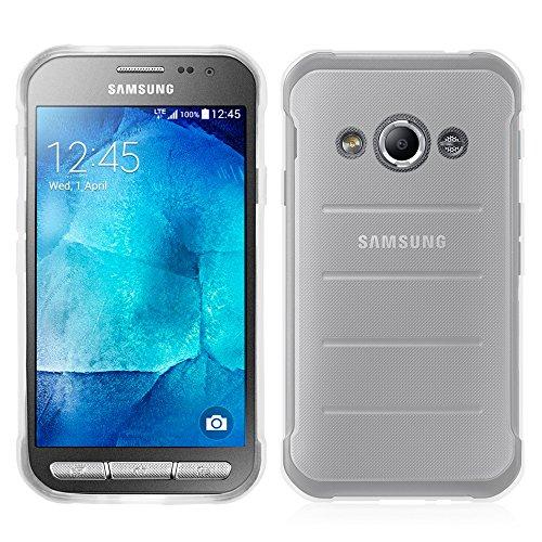 Annart Schutzhülle aus Silikon-Gel, weich, ultradünn, für Samsung Galaxy Xcover 3 SM-G388F/ Xcover 3 (2016) Value Edition SM-G389F – transparent