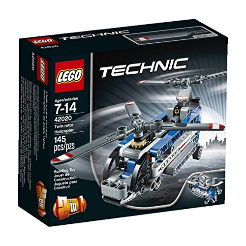 LEGO Technic - Helicóptero de Doble hélice, Juegos de construcción (42020)