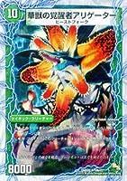 時空の花カイマン /華獣の覚醒者アリゲーター ホイル仕様 デュエルマスターズ 勝利の将龍剣 ガイオウバーン dmd20-019