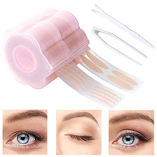 1200 Pcs Eyelid Tape, Invisible Double Eyelid Lift Strips Instant Eyelid...