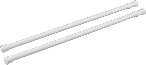 OTOTEC 55-90cm veerbelaste uitschuifbare staven Voile netto gordijn spanning staaf paal rail