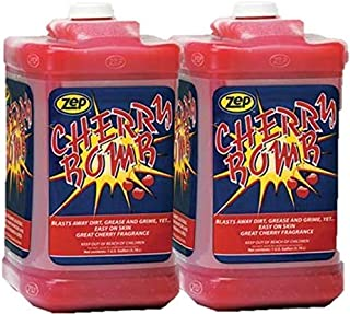 Zep Cherry Bomb Hand Cleaner 1 Gal 95124 (Pack of 2) Upgrade from The weak Orange Stuff - This is The Go-to for Mechanics!