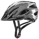 Uvex Viva 3 - Casco de ciclismo unisex para adultos, color negro, 56-62 cm