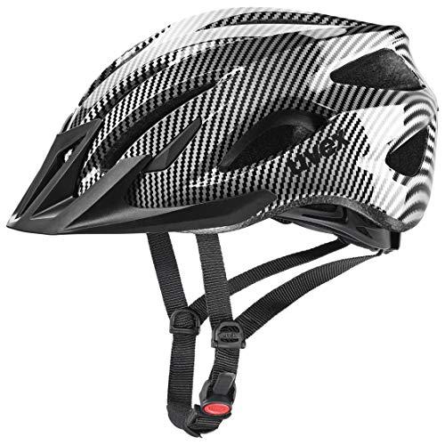 Uvex Unisex Erwachsene, Viva 3 Fahrradhelm, Carbon Look Black, 56-62 cm
