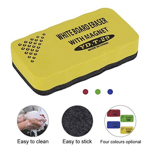 Magnetischer Radiergummi - 1PCS New Arrival Whiteboard Board Radiergummi Drywipe Marker Cleaner Magnetisches Schulbürozubehör Langlebig Stilvoll - Zufällig geliefert