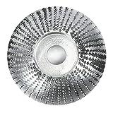Almencla Disco de Modelado de Madera Adecuado para Amoladoras Angulares, Fácil de Operar - Curvado