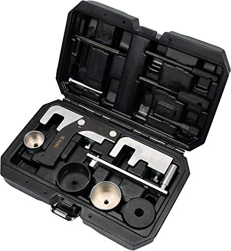 Yato YT-06006 12-Element Timing Lock KIT, schwarz