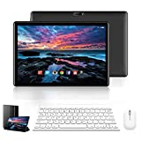 Tablet 10 Pulgadas 4G Full HD 3GB RAM 32GB ROM/128GB Dual SIM Dual Cámara 8500mAh BateríaTablet PC Android 9.0 Quad-Core Tablet WiFi/Bluetooth/GPS/OTG(Negro)