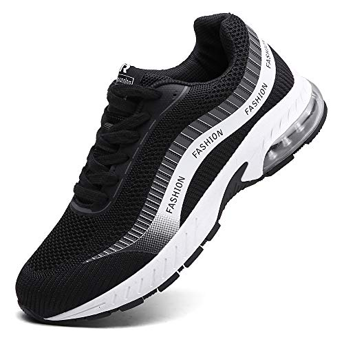 XIDISO Running Shoes Mens Air Trail Mesh Sneakers Athletic Walking Cross Training Tennis Sports Shoe for Men