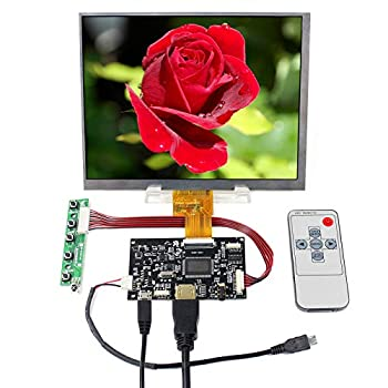 VSDISPLAY 8  1024X768 IPS LCD 8 inch HJ080IA-01E with HD-MI Controller Board fit to The Raspberry Pi