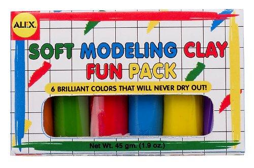 Alex Toys Artist Studio à Modeler Fun Pack avec 6 Couleurs