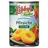 Libby's Pfirsiche natursüß, 410 ml