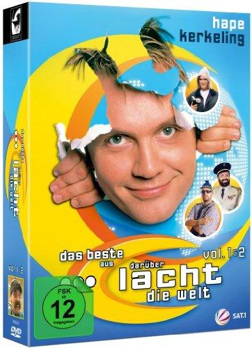 """Hape Kerkeling - Das Beste aus """"Darüber lacht die Welt"""", Vol. 1+2 (2 DVDs)"""