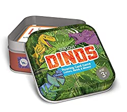 1. Qurious Dinos STEM Flash Card Game