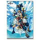 Square Enix Kingdom Hearts 2 Cover Art Wall Scrolls