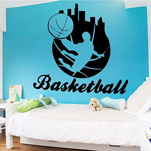 YIYEBAOFU nijntje muur stickers, spelen basketbal muur stickers Sel plastic behang familie woonkamer decoratie accessoires achtergrond w