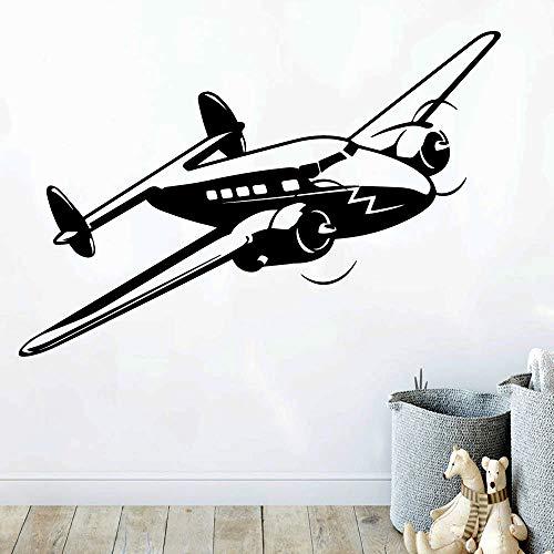 Tianpengyuanshuai Hubschrauber Aufkleber abnehmbare Wandaufkleber Hintergrund Wandkunst Aufkleber 45X66cm