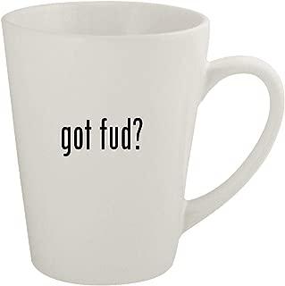 got fud? - Ceramic 12oz Latte Coffee Mug