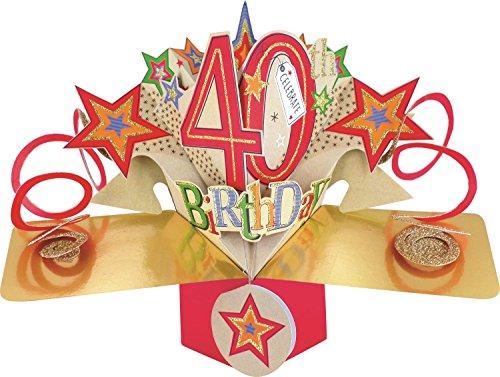 Second Nature pop UPS biglietto di compleanno 40°