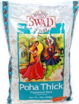 Poha THICK (Flattened Rice) - 2lb by Swad
