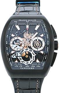 フランク・ミュラー FRANCK MULLER ヴァンガード グランデイト V45CC GD SQT TT NR BR 5N ブラック文字盤 腕時計 メンズ (W180266) [並行輸入品]
