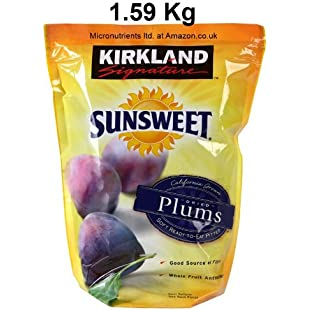 Kirkland Signature Sunsweet Pitted Dried Plums, 1.59kg