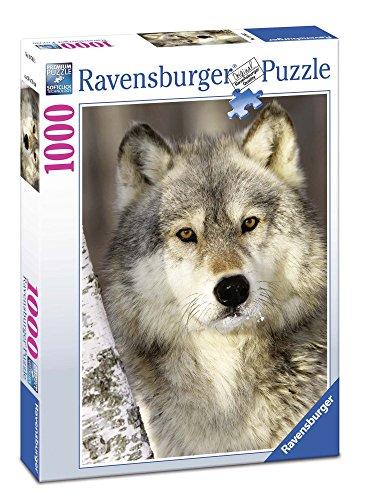 Ravensburger Italy- Muso di Lupo Puzzle da Adulti, Multicolore, 1000 Pezzi, 19761