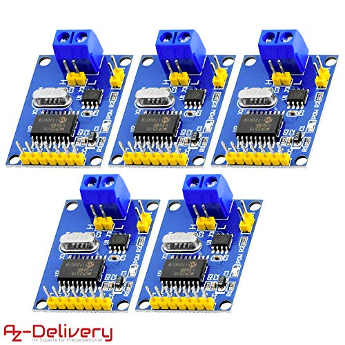 AZDelivery 5 x MCP2515 CAN Bus Shield kompatibel mit Arduino!