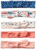 Hudson Baby Unisex Baby Cotton and Synthetic Headbands, Feathers,...