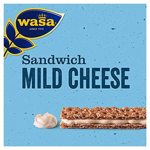 Wasa Sandwich Käse Singlepack, 24er Pack (24 x 30g)