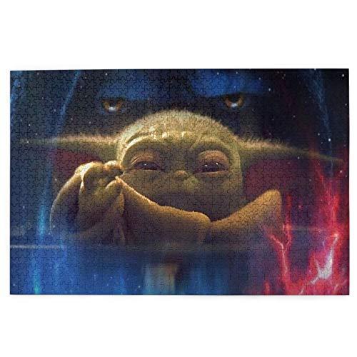 The Child Baby Yoda - Rompecabezas de 1000 piezas para adultos y niños, rompecabezas de 1000 piezas para niños, juguetes educativos para niños, juego de regalo