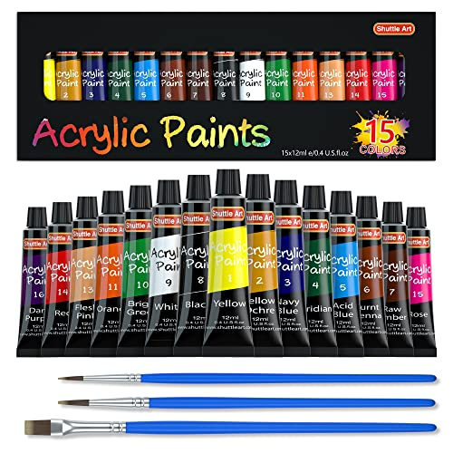 Acrylic Paint Set, Non Toxic