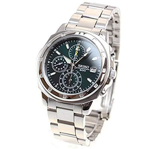 [セイコーimport] 腕時計 SND411P メンズ 逆輸入品 シルバー