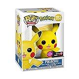 Funko POP! Games: Pokemon - Pikachu [Flocked] #353 Exclusive