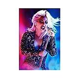 Sängerin Lady Gaga Schauspieler 41 Leinwand Poster