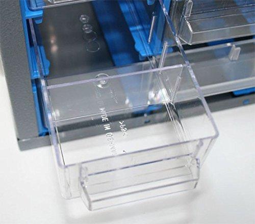 10er-Trennstege-Set 50091 für Schubladen des Küpper Kleinteilemagazine 50090