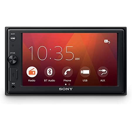 Sony Xav 1550d 2din Dab Bluetooth Usb Touchscreen Weblink Autoradio Navigation