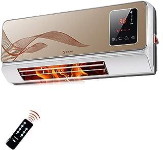 Calentador De Aire Remoto De 2000 W, Pantalla Digital LED Y Temporización Automática: Calentador De Puerta Inteligente Calefactor De Temperatura Constante Montado En La Pared