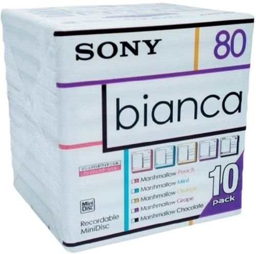 SONY MDW80BA MiniDisc (10er-Pack)