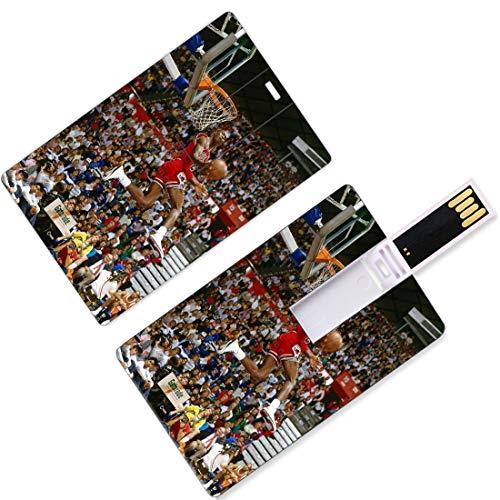 USB Flash Thumb Drives Giocatore di basket nazionale Forma di carta di credito Playoff dell'Associazione Finali Allstar Super Star Lancia un passaggio di baseball Primo round U Memoria su disco Memory