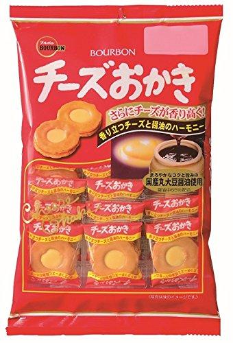 ブルボン チーズおかき 22枚×6袋