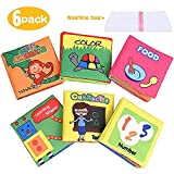 Best Soft Books For Babies - XREXS Baby Soft Books, Crinkle Cloth Books Review