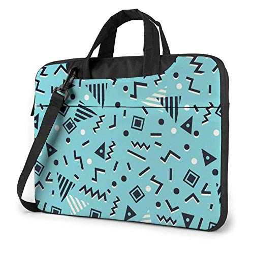 XCNGG Computertasche Umhängetasche Laptop Bag, Colored Staircase Business Briefcase Protective Bag Cover for Ultrabook, MacBook, Asus, Samsung, Sony, Notebook 14 inch