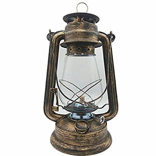 NSHUN Große Öllampe Hohe Helligkeit Große Kapazität Vintage-Stil Petroleumlampe Licht Für Bar Coffee Shop LED Tischlampe