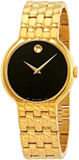 Movado Veturi Goldplated Stainless Steel Mens Watch 0606934